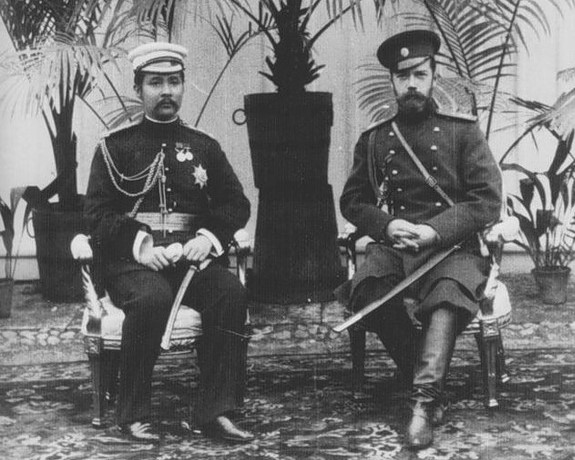 Chulalongkorn with Tsar Nicholas II.