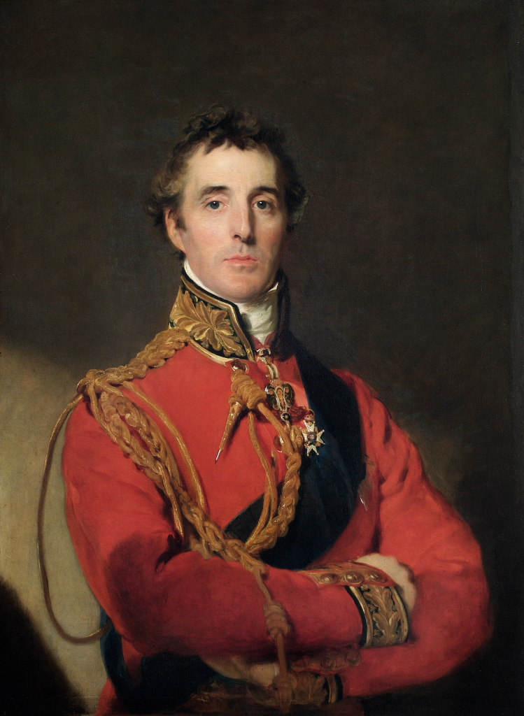 Arthur Wellesley, 1st Duke of Wellington by Thomas Lawrence. Image courtesy of Wikipedia.