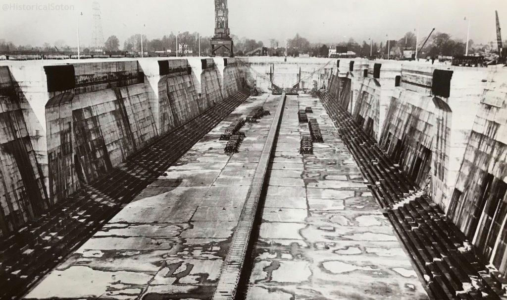 The King George V Graving Dock.