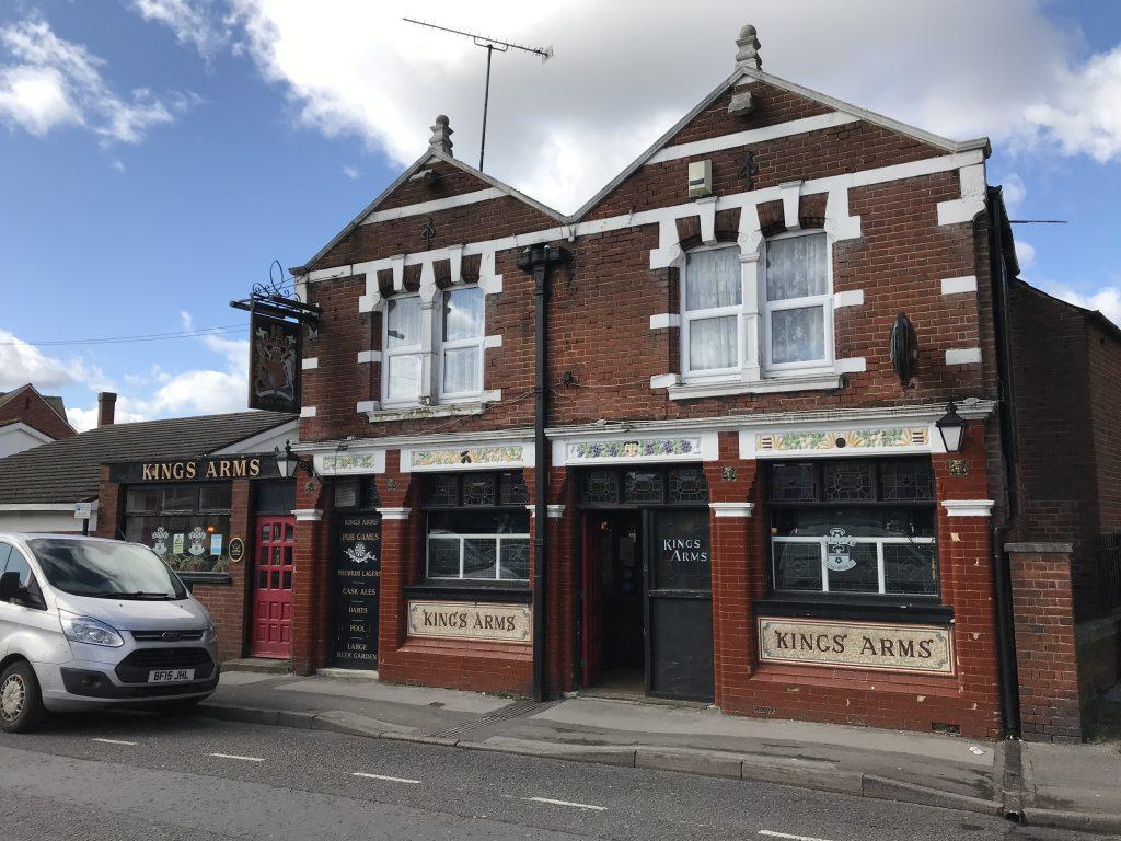 The Kings Arms, Church Street, Shirley, Southampton.